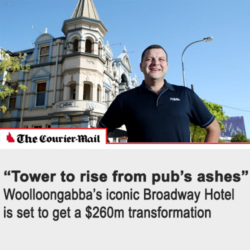 Tower to rise from Pubs Ashes